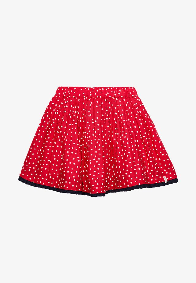 ALLOVER PRINTED DOT SKIRT - A-lijn rok - raspberry