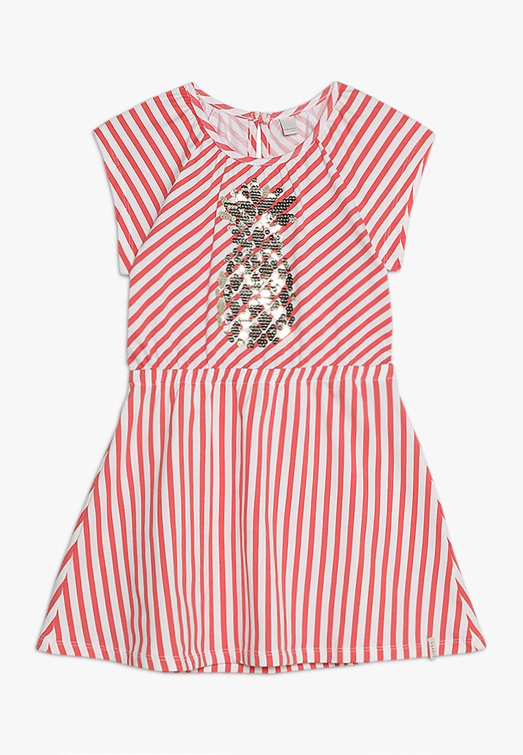 Esprit - CHASUBLE - Jersey dress - coral
