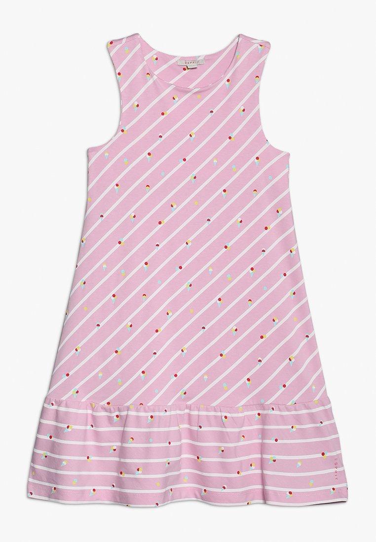 Esprit - DRESS - Žerzejové šaty - candy pink