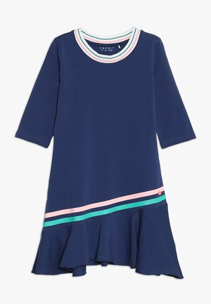 CHASUBLE - Jersey dress - marine blue