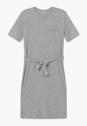 DRESS - Robe en jersey - heather silver