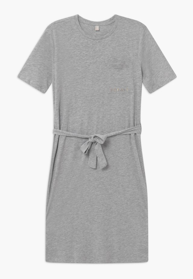 DRESS - Jerseyjurk - heather silver