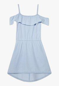 Esprit - DRESS - Korte jurk - light indigo denim - 0