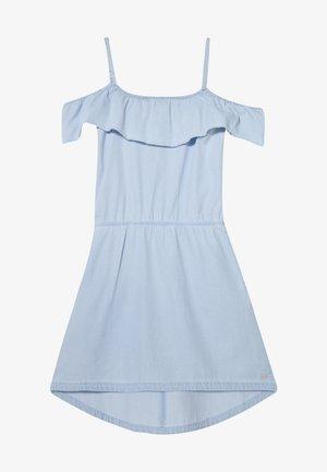 DRESS - Freizeitkleid - light indigo denim