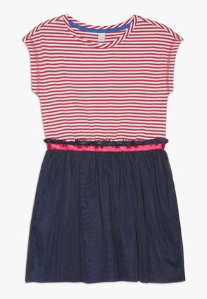 DRESS - Žerzejové šaty - raspberry