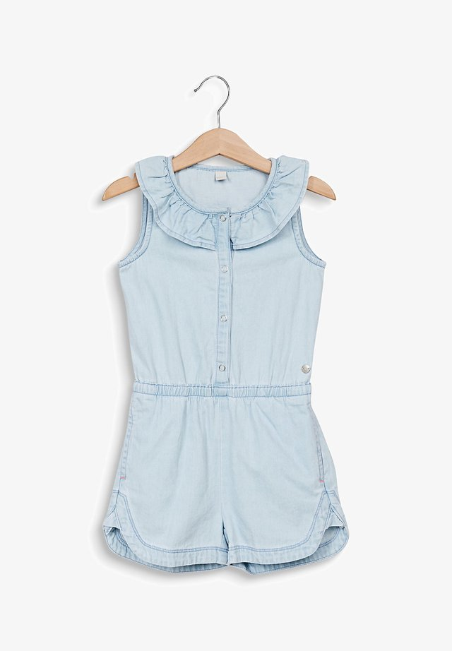 DENIM OVERALL - Jumpsuit - bleached denim