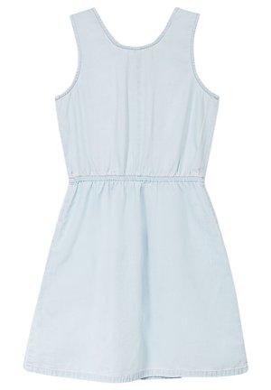 FASHION DENIM DRESS - Spijkerjurk - bleached denim