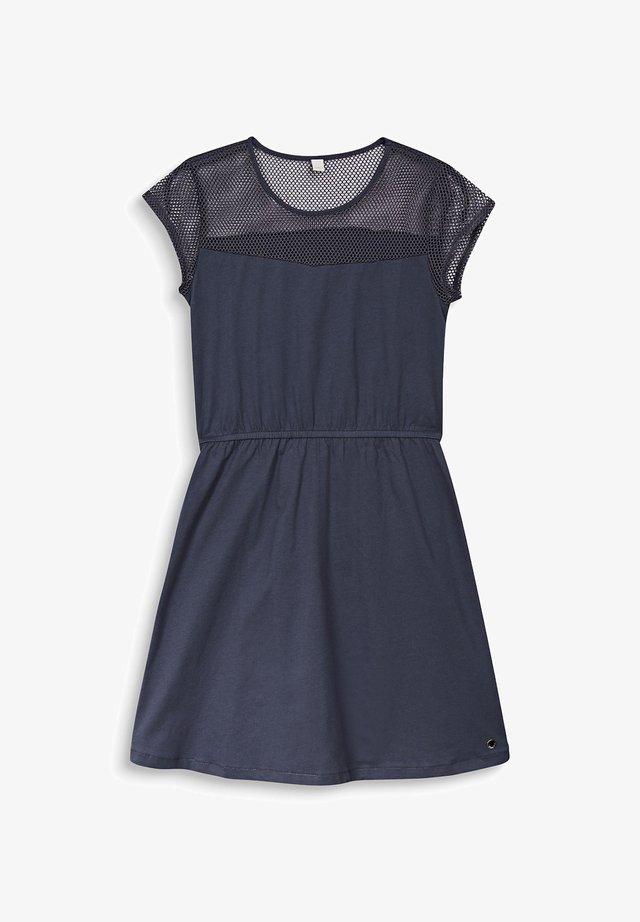 Korte jurk - anthracite