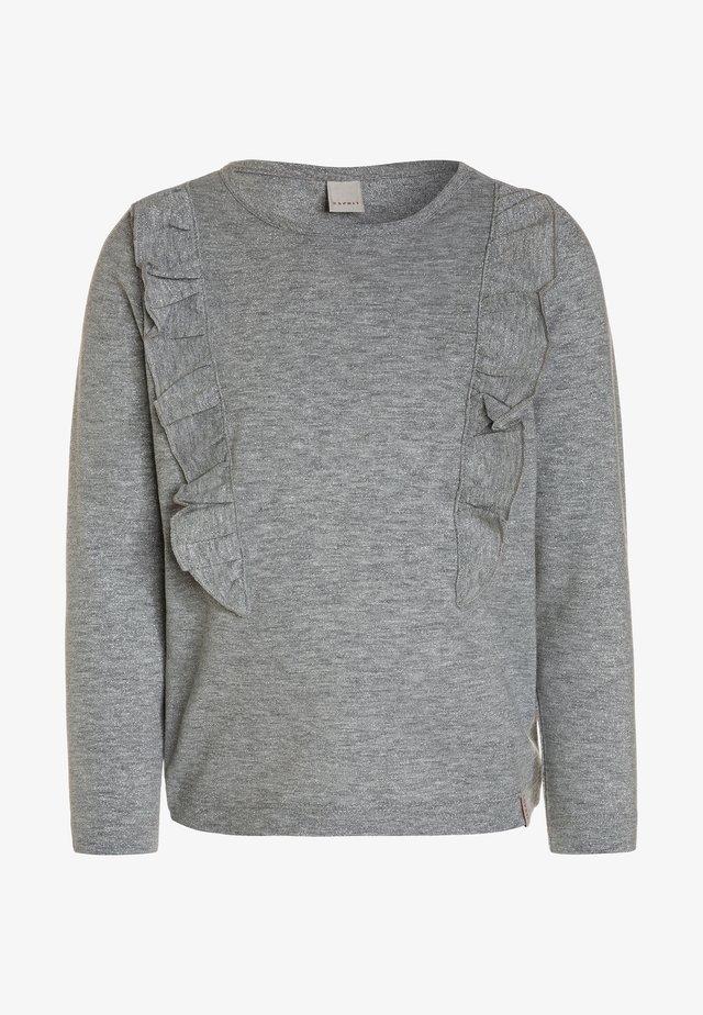 Pitkähihainen paita - silver