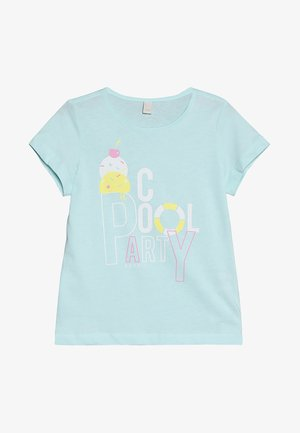 T-shirt con stampa - ice blue