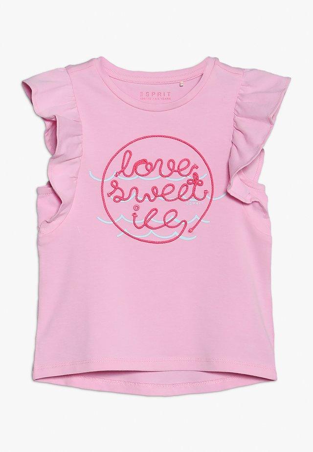 Camiseta estampada - candy pink