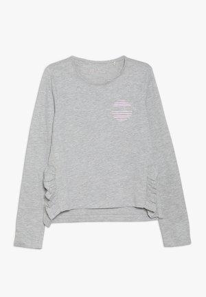 TEE - Long sleeved top - heather silver