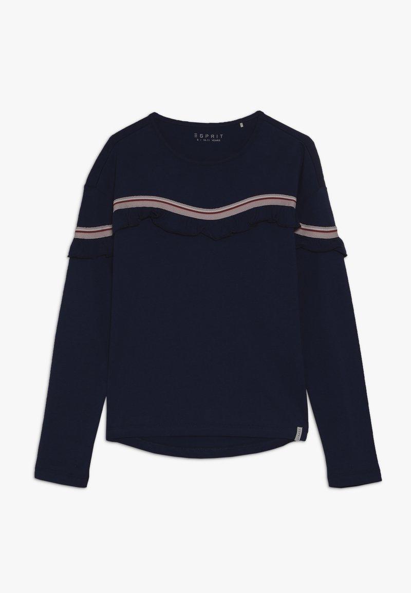 Esprit - T-shirt à manches longues - marine blue