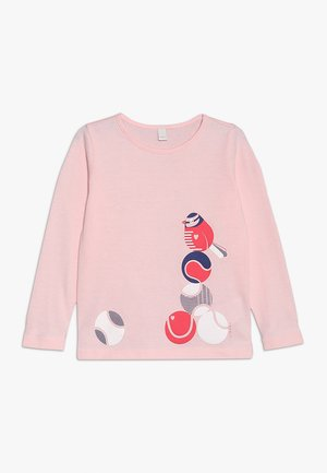 Long sleeved top - tinted rose