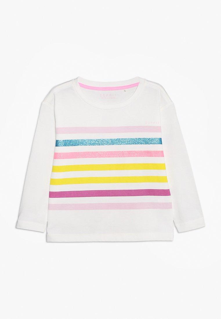 Esprit - T-shirt à manches longues - off white
