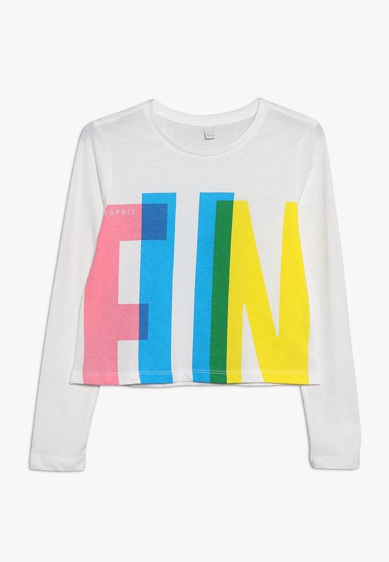 Esprit - Langærmede T-shirts - off white