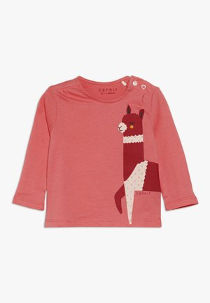 BABY - Long sleeved top - coral