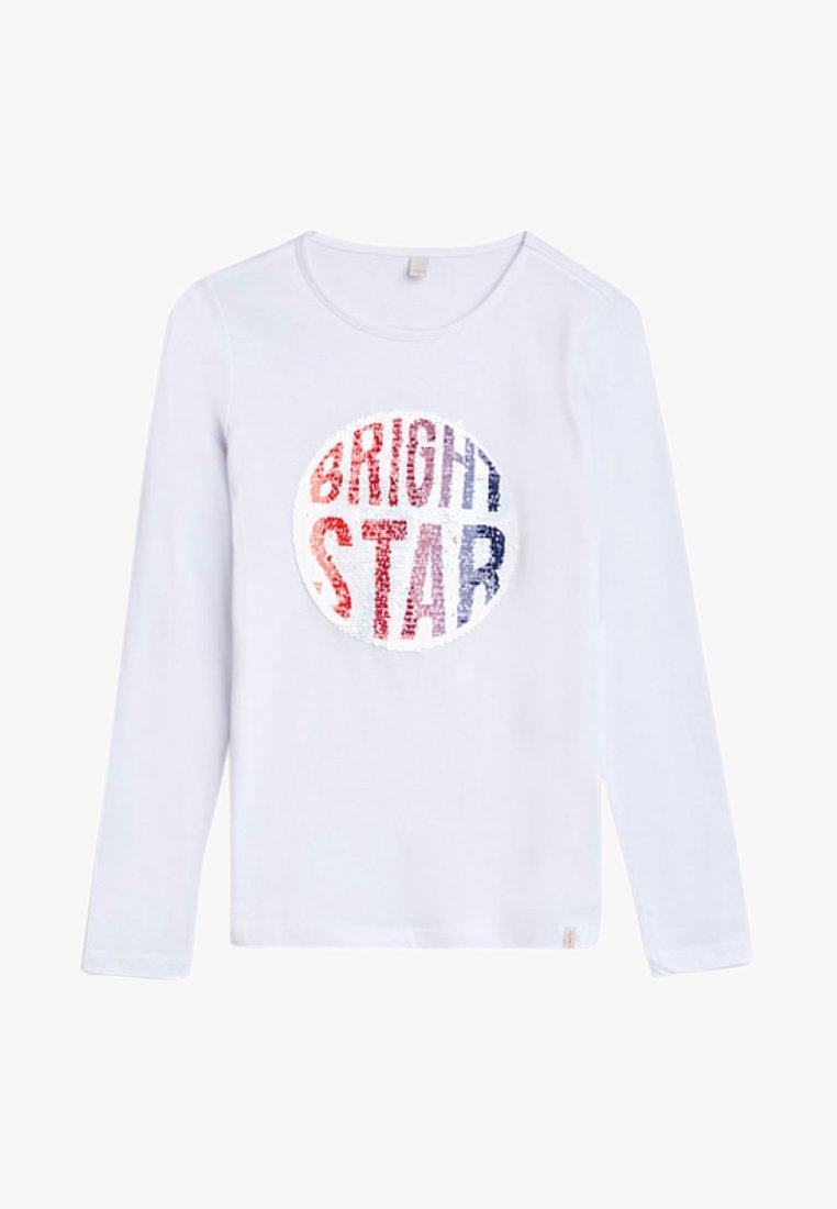 Esprit - LONGSLEEVE - T-shirt à manches longues - white