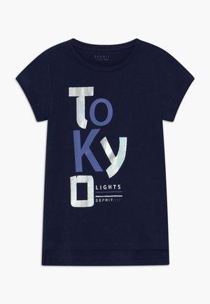 Triko spotiskem - midnight blue