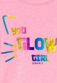 Esprit - Triko spotiskem - neon pink - 3