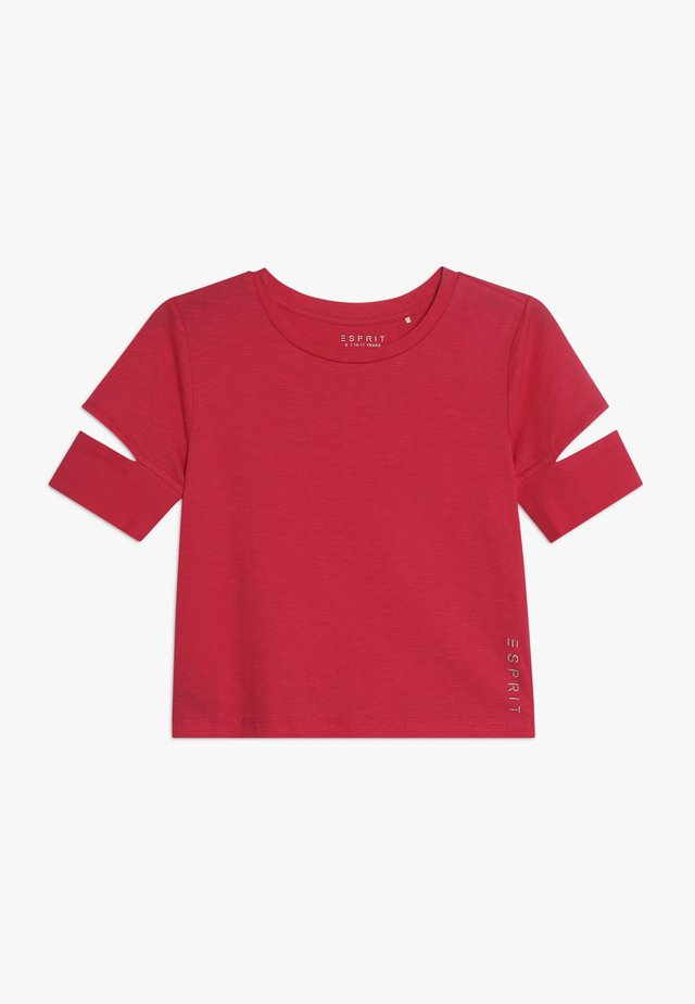 Camiseta básica - raspberry