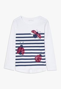 Esprit - T-SHIRT LS - Long sleeved top - white - 0