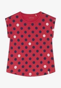 Esprit - T-shirt con stampa - raspberry - 3