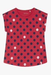 Esprit - T-shirt con stampa - raspberry - 0