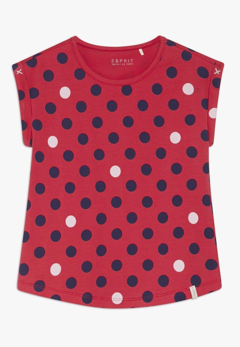 Esprit - T-shirt con stampa - raspberry