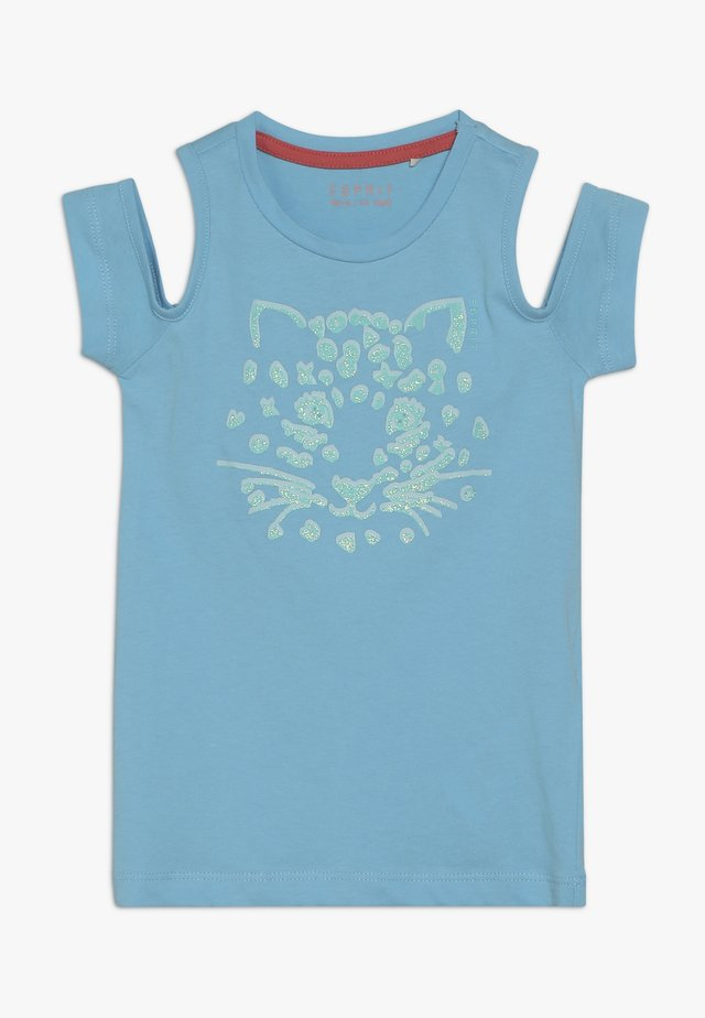 T-SHIRT SS - Camiseta estampada - light aqua