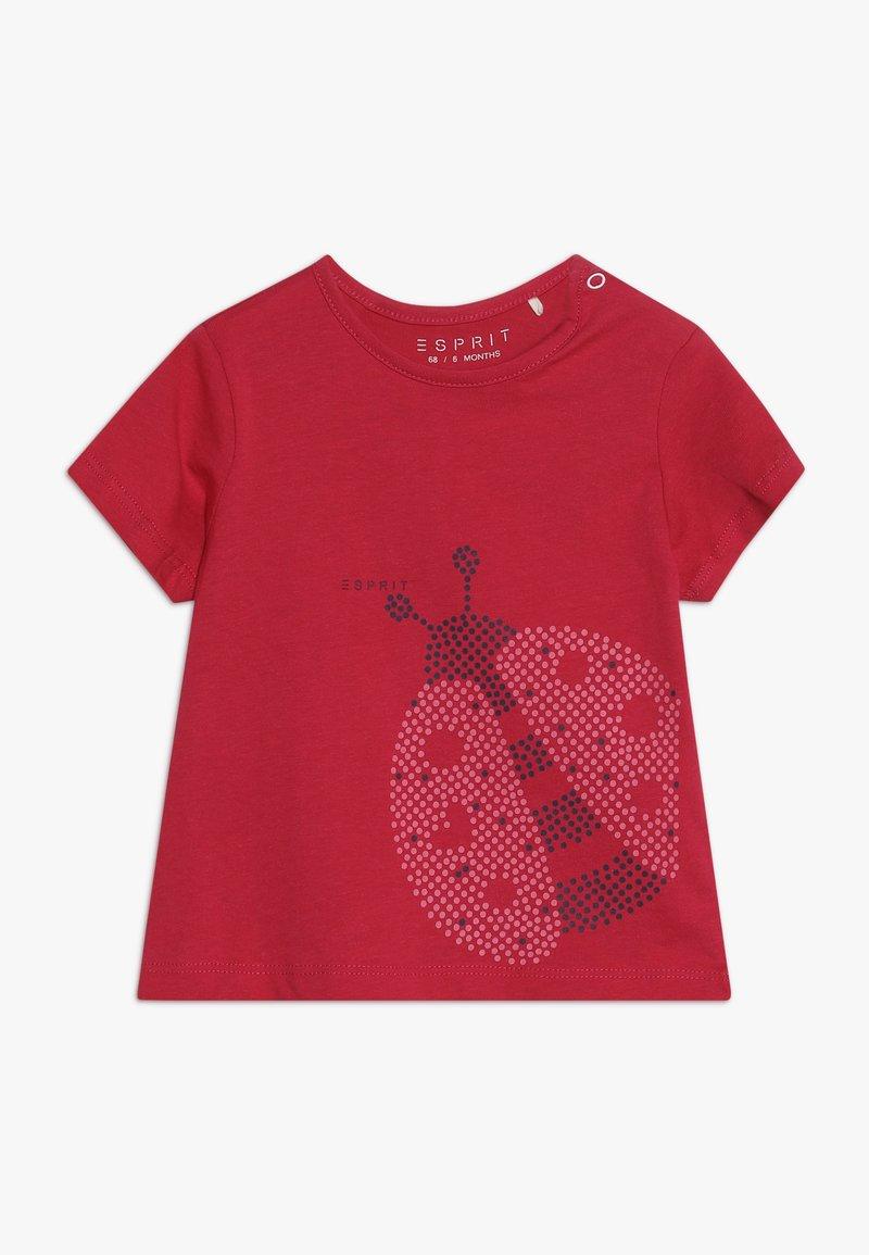 Esprit - BABY - T-shirt con stampa - raspberry