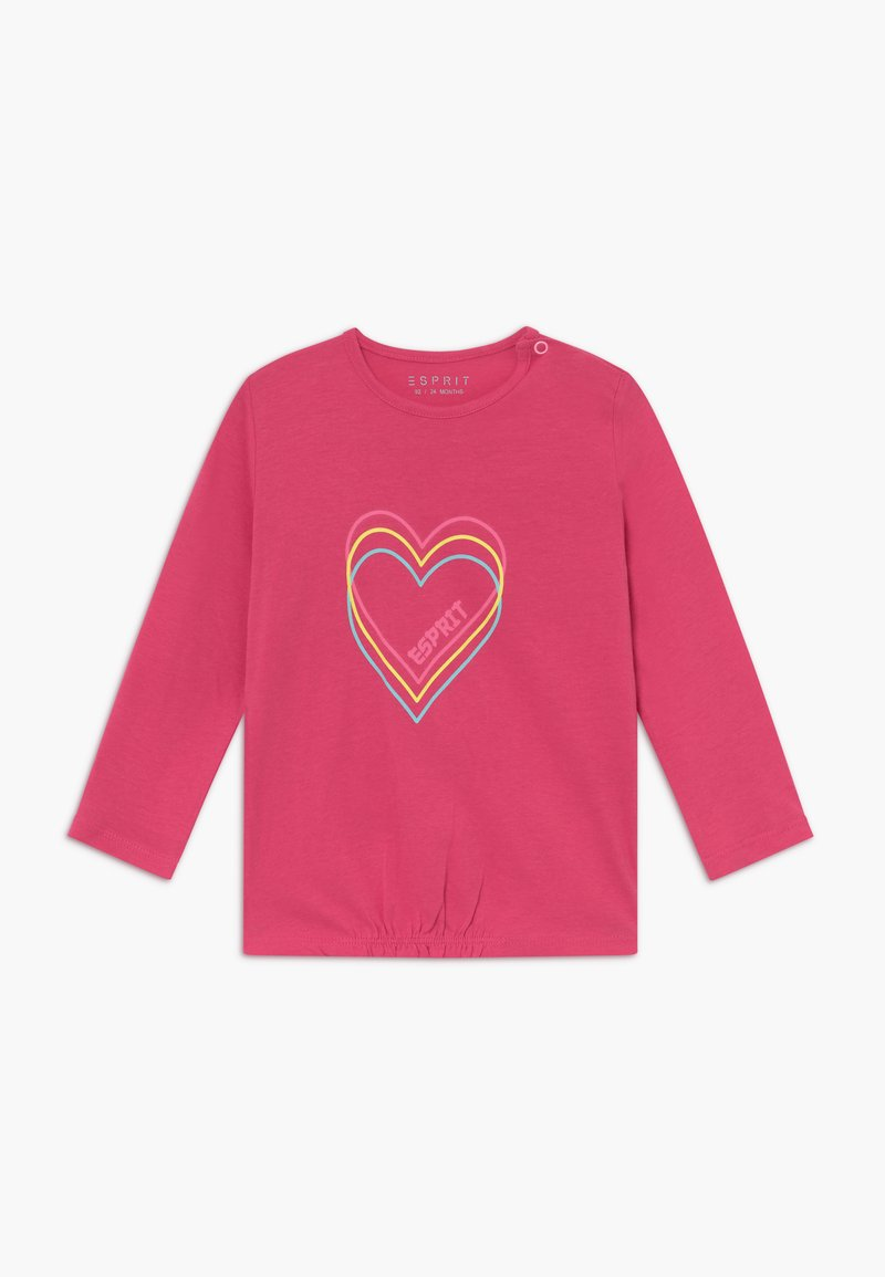 Esprit - BABY - Top sdlouhým rukávem - candy pink