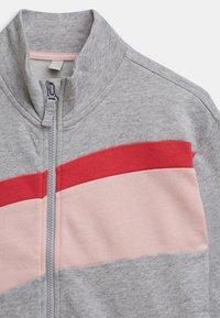 Esprit - veste en sweat zippée - heather silver - 2