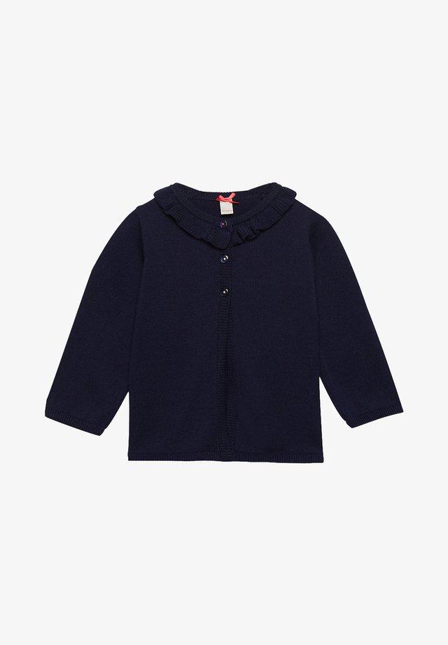 MIT MARIENKÄFERN, 100% BAUMWOLLE - Vest - midnight blue
