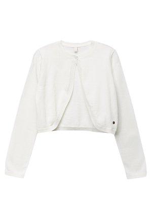 FASHION BOLERO - Cardigan - off white