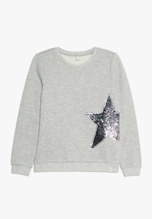 Sweater - heather silver