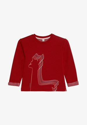 Sweater - tibetan red