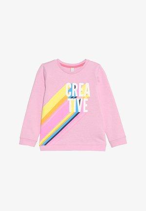 Sweatshirt - candy pink