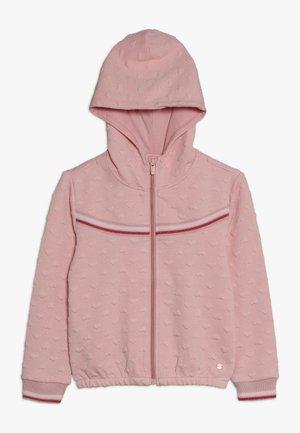 Zip-up hoodie - light blush