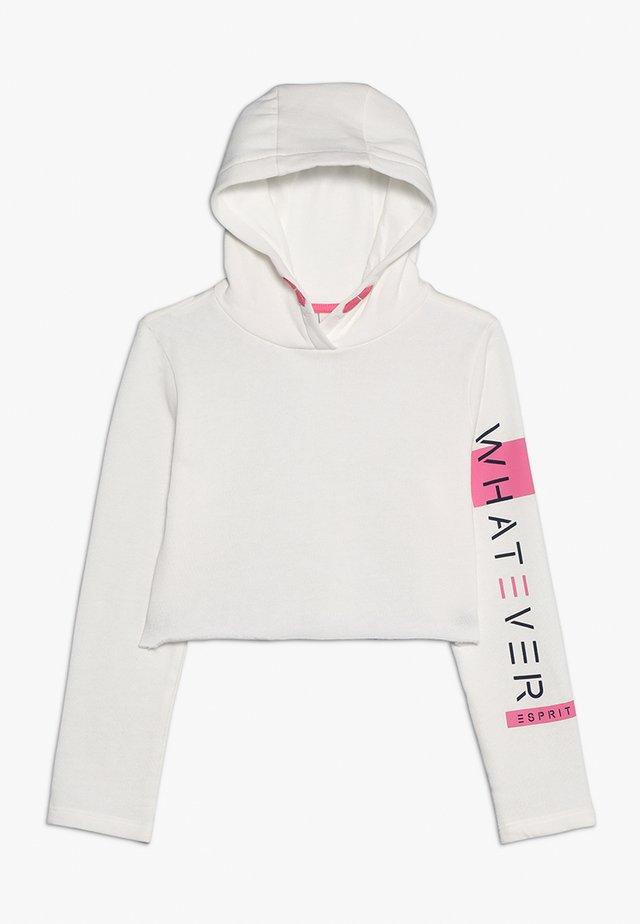 Jersey con capucha - off white