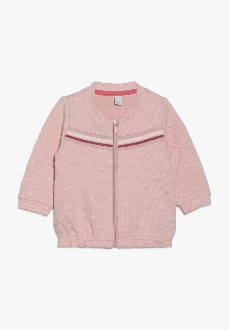 Esprit - CARD BABY - Mikina na zip - light blush