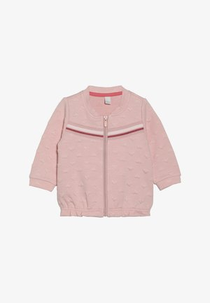 CARD BABY - Zip-up hoodie - light blush