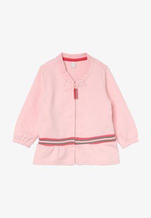 CARDIGAN  BABY - Zip-up hoodie - tinted rose