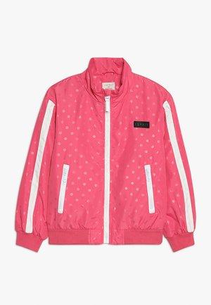OUTDOOR JACKET - Light jacket - dark pink