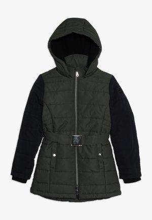 Zimní kabát - dark kaki