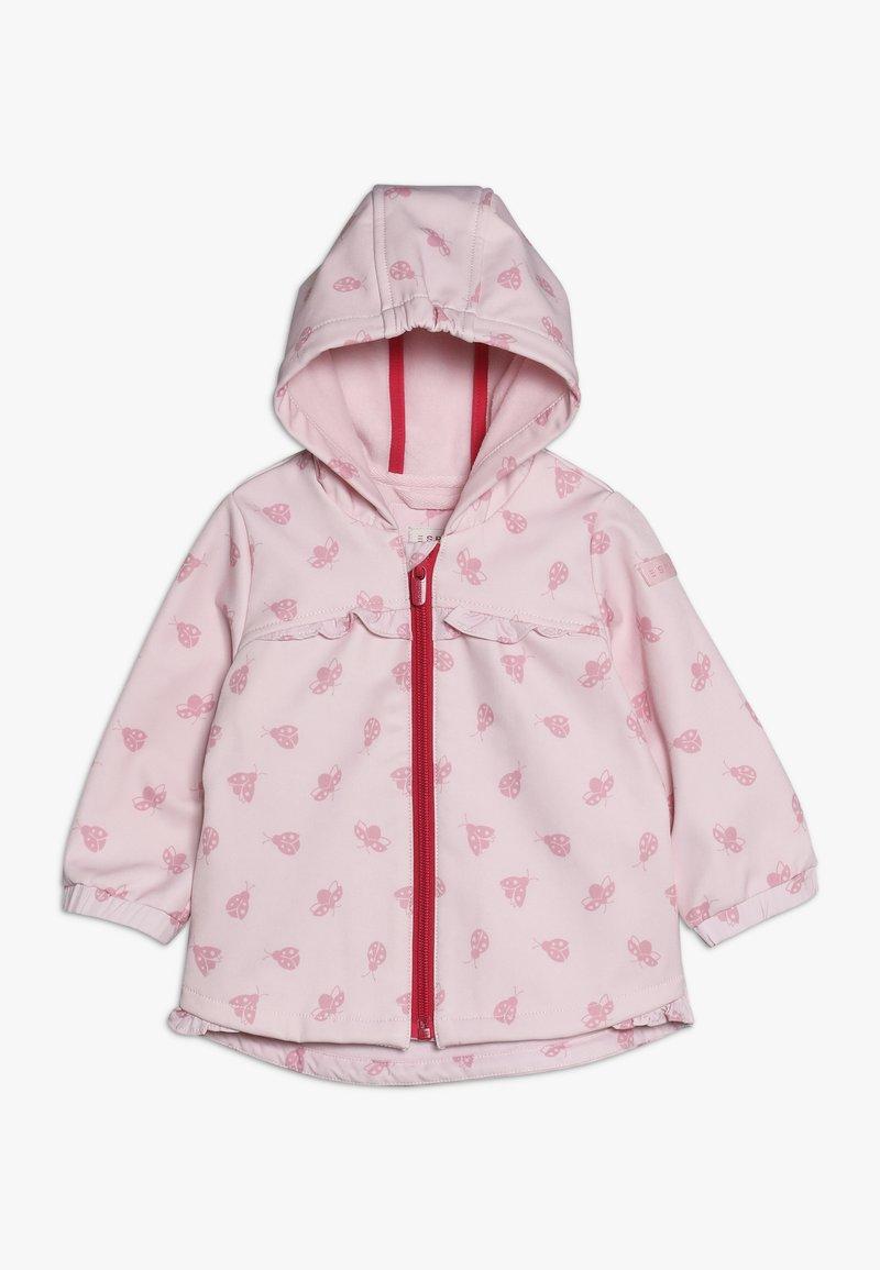 Esprit - OUTDOOR JACKET BABY - Overgangsjakker - light pink
