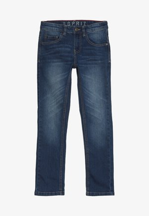 PANTS - Jean slim - medium wash denim
