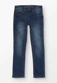 Esprit - PANTS - Jeans Slim Fit - medium wash denim - 0