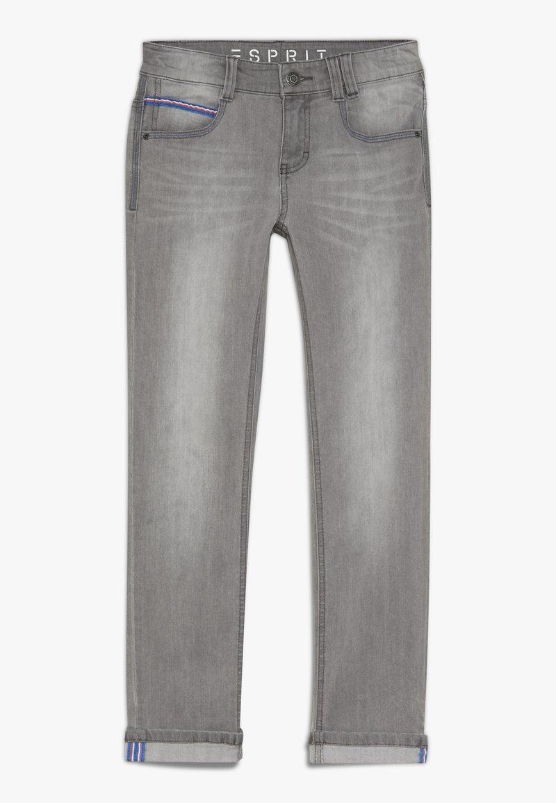 Esprit - DIVERS - Slim fit jeans - grey denim