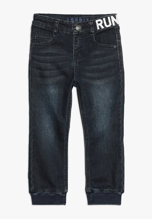 DIVERS - Relaxed fit jeans - dark indigo denim